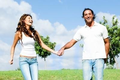 Casal unido pela união estável