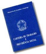 Representação da Carteira de Trabalho - CTPS