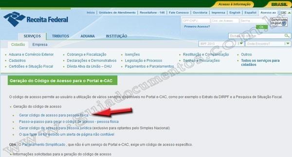 Imprimir CPF - 2 via CPF online