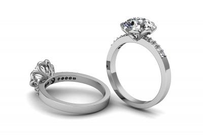 Alianças utilizadas em casamento civil