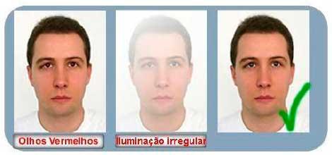 Foto Para Passaporte de emergência