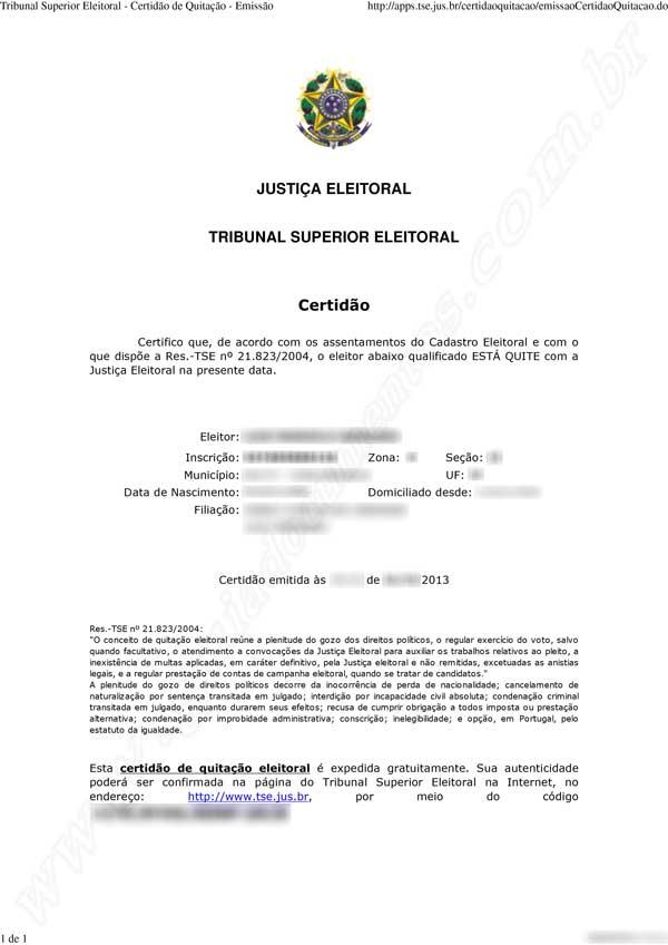 Como tirar a Certidão de Quitação Eleitoral pela internet - passo a passo