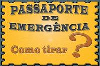Como tirar passaporte de emergência