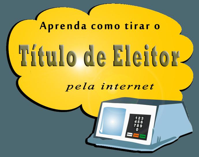 Aprenda como tirar o título de eleitor pela internet