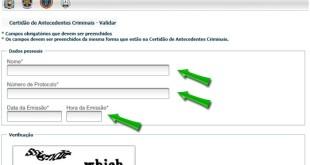 Como Tirar Antecedentes Criminais – Estado de Pernambuco – PE