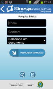 Aplicativo Sinesp Cidadão
